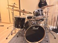 Pearl Vision Birch with Hardware/Zildjian and Sabian Pro Cymbals
