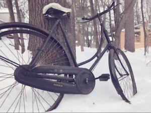 Vintage 1920's Humber Woman's Bicycle