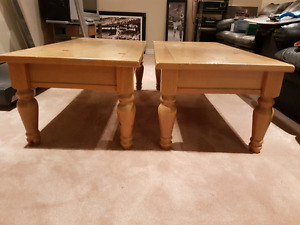 Coffee Tables x 2.