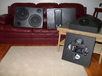Meyer Ums-1p subs/Transparence TWTPACK4 Tweeters as new!