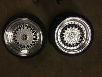 "15"" alloys BBS REPLICAS VW /MX5/VAUXHALL/HONDA"