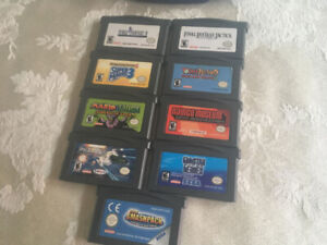 Games for GameBoy Advance