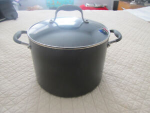 Large 10 Qt (9.5 Lt) nonstick Anolon / Stock /  Soup / Pasta Pot