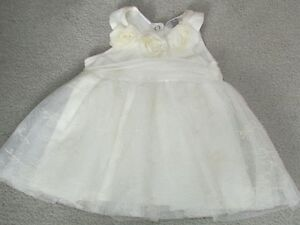 Ivory Special Occasion Dress (3-6 months)
