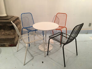 Small scale dining set or just buy the chairs