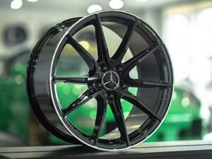 Mercedes Benz AMG OEM Style 19 Inch Wheels C300 / C400 / C450 / C43  - T1 Motorsports