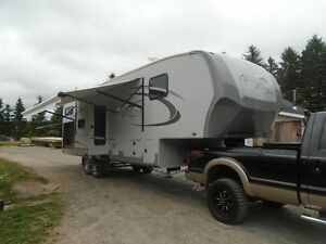 34' OPEN RANGE ROAMER, FIFTH WHEEL TRAVEL TRAILER (B29BHS)