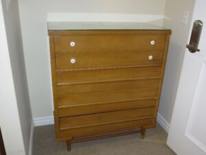Gibbard Solid maple Bedroom set Dresser Canadian Made