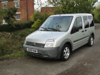2008 FORD TRANSIT CONNECT TOURNEO - H/ROOF - LWB - 5 SEAT - LEFT HAND DRIVE -
