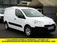2013 PEUGEOT PARTNER HDI PROFESSIONAL L1 850 WITH AIR CONDITIONING,ELECTRIC PACK