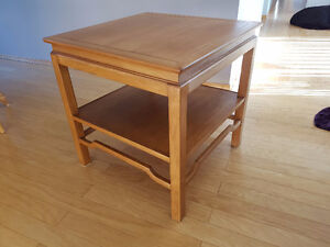 Reduced - Beautiful Solid Oak End Table