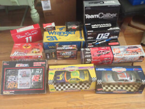Collection of Diecast Racing Cars - Rare Rookie Cars Low Prod !