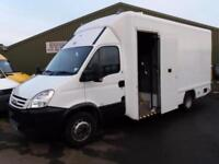 Iveco Daily 65C 18 box luton mobile workshop fitters van ex snapon tool van