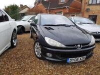 Peugeot 206 1.6 HDi 110 2005 Coupe Cabriolet Sport diesel convertiable