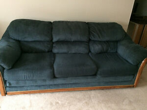 Full size and love seat couches
