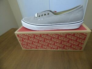 BNIB Vans Authentic Cotton Hemp Shoes - Grey - Sz 12
