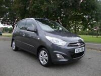 Hyundai i10 1.2 ( 85bhp ) Active 5-Dr, 2013, 38000 Miles with FSH, £20 Rd Tax