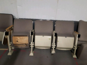 Theater seating.