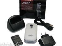 Telefono Cellulare Saiet Unico Tasto Sos Gsm Radio Foto Bluetooth Torcia Bianco Bianco-  - ebay.it