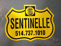 GOING ON VACATION? CALL SENTINELLE ALARM FOR A FREE SYSTEM