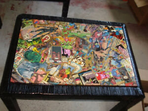 Comic art coffee tables