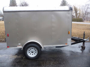 8 X5 Enclosed trailer    SOLD !!!!