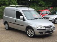 2010 Vauxhall Combo 1.3CDTi 16v 1700 SE Silver FSH Superb Condition NO VAT!!!!!!