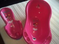 Minnie mouse baby bath