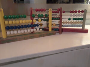 Abacus  ( antique bead counters)