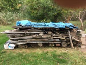 Free wood lumber