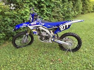 Yamaha Yz250F 2015 Motocross