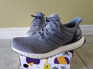 STEAL - Heather/Mystery Grey Adidas Ultra Boost 3.0!