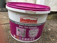 Large tub of Unibond Wall Tile Adhesive