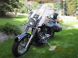Touring Motorcycle 650cc V Star Classic