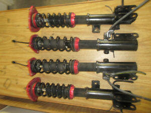 93 01 SUBARU WRX GC8 STI ADJUSTABLE COILOVERS SUSPENSION JDM
