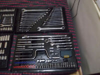 socket set mastercraft large complete set