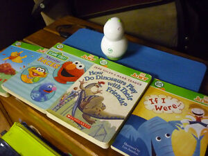 Leap Frog Reader and books