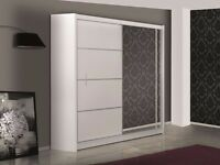 Wardrobe VISTA white 180