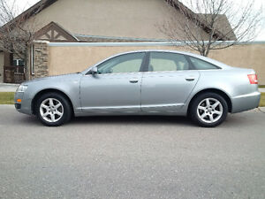 07 Audi A6 255HP No Accidents/Extra New Tires Finance Option
