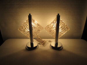 lampes vintages années 70s