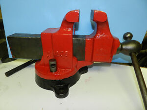 """5"""" vise a great size Quality vices made in USA, UK & Canada"""