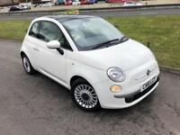2012/ 61 Fiat 500 0.9 LOUNGE - FSH - New MOT - Only 43000 Miles