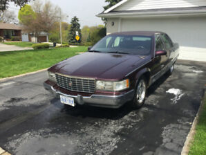 1995 CADILLAC FLEETWOOD BROUGHAM TOURING SEDAN