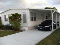 MOBILE HOME FOR RENT,VERO BEACH,FLORIDA (ON OCEAN SIDE)