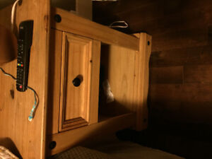 Solid wood dresser and night stands