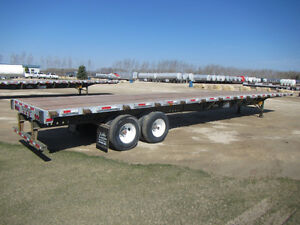 48'-53' Flat deck and Step deck Trailers