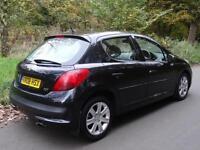 2008 08 Peugeot 207 1.6HDI 90 SE Premium...PANORAMIC GLASS ROOF