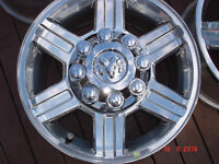 "2013 Dodge Ram 2500/3500 Alum.OEM 17""x 8 bolt rims / no tires"