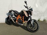 KTM 690 Duke, Akrapovic can, tail tidy, seat cowl