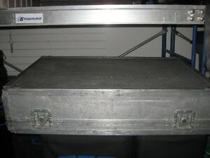 Silver Road Case for Mixer